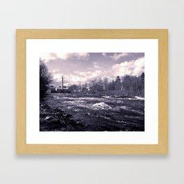 old mill river Framed Art Print