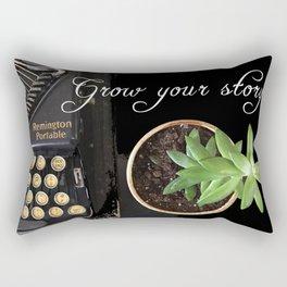 Grow Your Story Rectangular Pillow