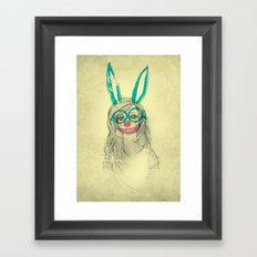 UNPRETTY Framed Art Print