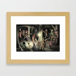 A Very Wild Jig Framed Art Print