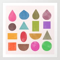 abstractions 2 Art Print