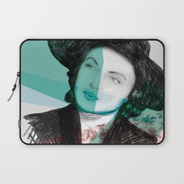 Ingrid Bergman's War of the Roses Laptop Sleeve