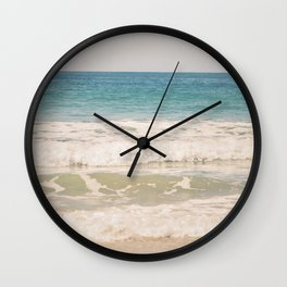 Beach Waves Wall Clock