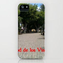 Icod de los Vinos   (A7 B0014) iPhone Case