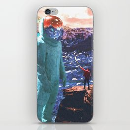 Giant and Man Surreal World iPhone Skin