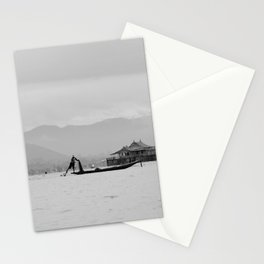 Inle Lake, Myanmar Stationery Cards