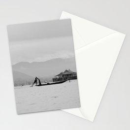 Inle Lake, Myanmar Stationery Cards