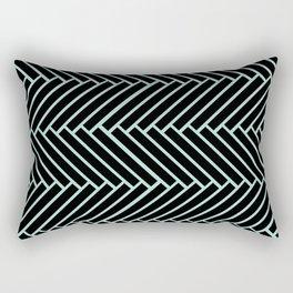 Criss Cross. Rectangular Pillow