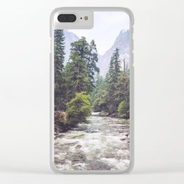 Rivers Lead the Way Clear iPhone Case