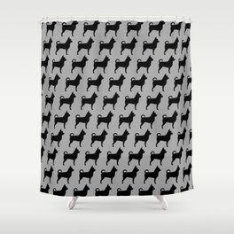 Chihuahua Silhouette Shower Curtain