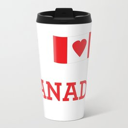 I heart Canada Travel Mug