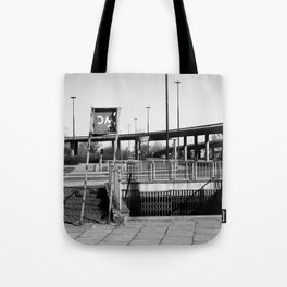 deep down the soul of the city of warsaw, poland Tote Bag