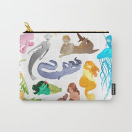 Unconventional Mermaids Carry-All Pouch
