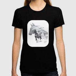 Trotting Up A Storm T-shirt