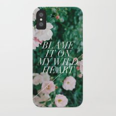 wild heart iPhone X Slim Case