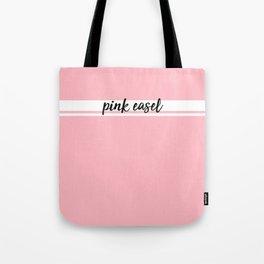Pink Easel Tote Bag