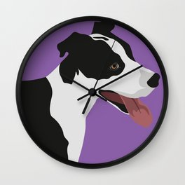 Save The Pitties Wall Clock