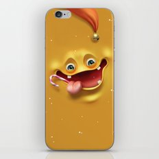 Christmas mad face iPhone & iPod Skin