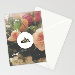 What are men to rocks and mountains? Stationery Cards