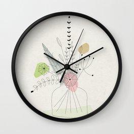 Judy's Bouquet Wall Clock