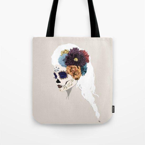 Versailles Skull Tote Bag
