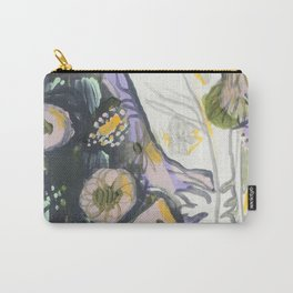 Feather & Flowers Carry-All Pouch