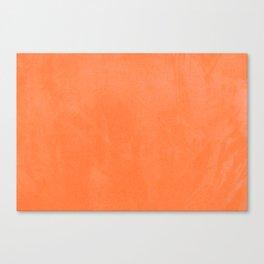 VELVET DESIGN - ORANGE Canvas Print