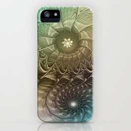 Togetherness, Fractal Art Abstract iPhone Case