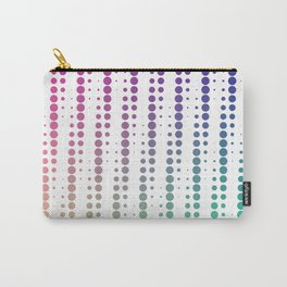 Dots in a half tone Carry-All Pouch