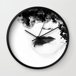 Leave Wall Clock