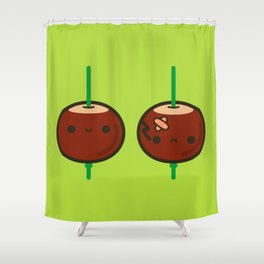 Cutie conkers Shower Curtain