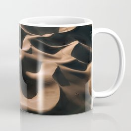 Lovers in the Sand - Aerial Landscape Photography Coffee Mug