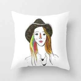 Lorena - SuperFriends Collection Throw Pillow