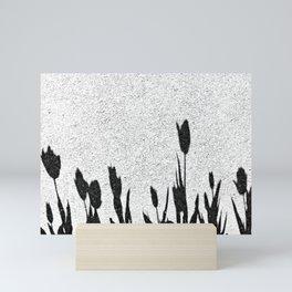 Flower Shadows Mini Art Print