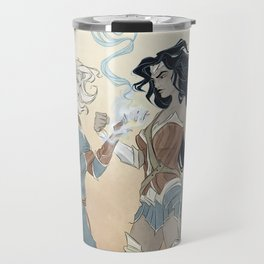 Super Powered: Fight Like a Girl Travel Mug