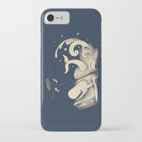 moby dick iPhone & iPod Cases featuring Moby Dick by Enkel Dika