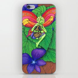 Fairy and Bee iPhone Skin