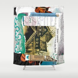Home Comforts Shower Curtain
