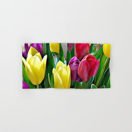 Tulips From Amsterdam Hand & Bath Towel