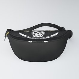 The pirate flag, but with the crown... Fanny Pack