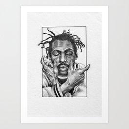 Coolio C's Art Print