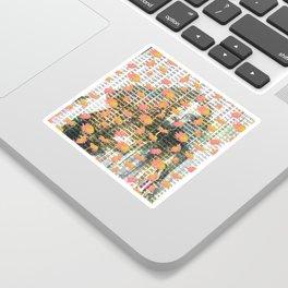 Reseda Sticker