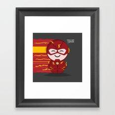 ChibizPop: Faster than... Framed Art Print