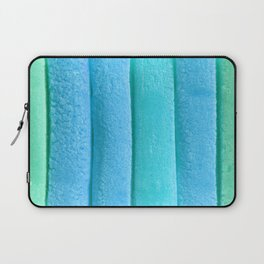 Light Sky Blue Colored Bubble Gum Laptop Sleeve