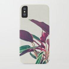 Prayer Plant II Slim Case iPhone X