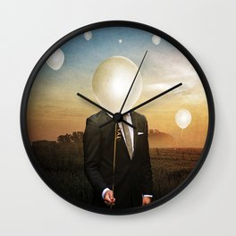The Wind Disciple Wall Clock