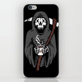 Coffee Reaper iPhone Skin