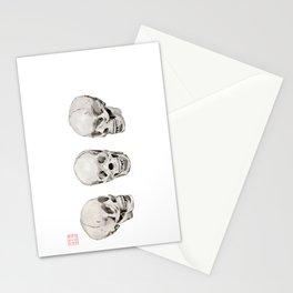 Three Skulls Stationery Cards