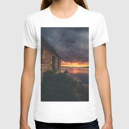 New Mexico Lake Sunset T-shirt