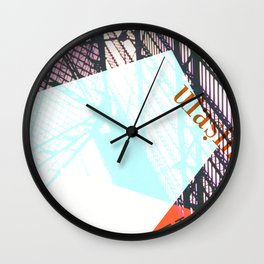 Story of the Roads - 1 Wall Clock